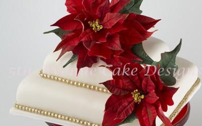 Christmas in July-Flower Paste Poinsettias