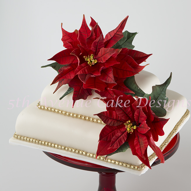 Christmas in July-Flower Paste Poinsettias