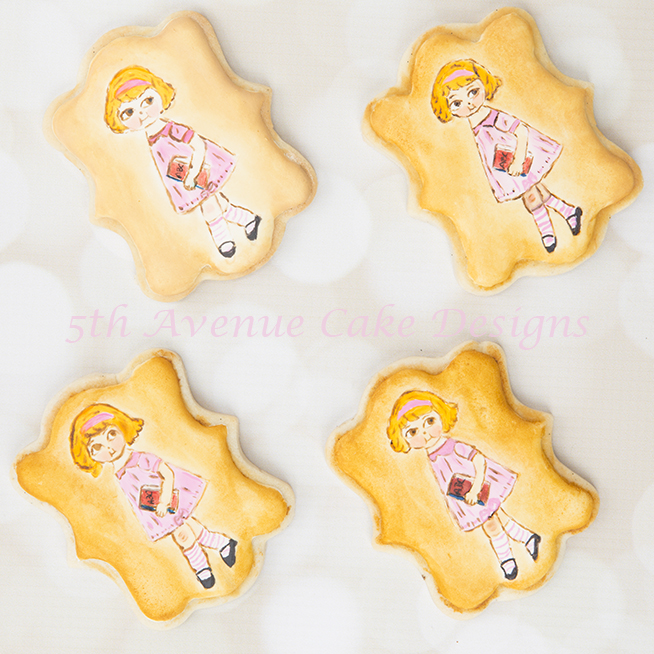 Hand Painted dolly Dingle Cookies