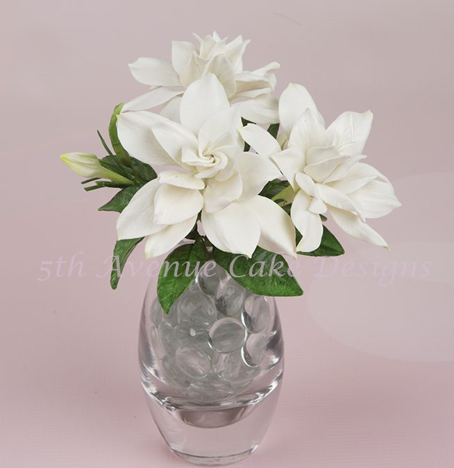Wedding Flower Paste Gardenia Spray
