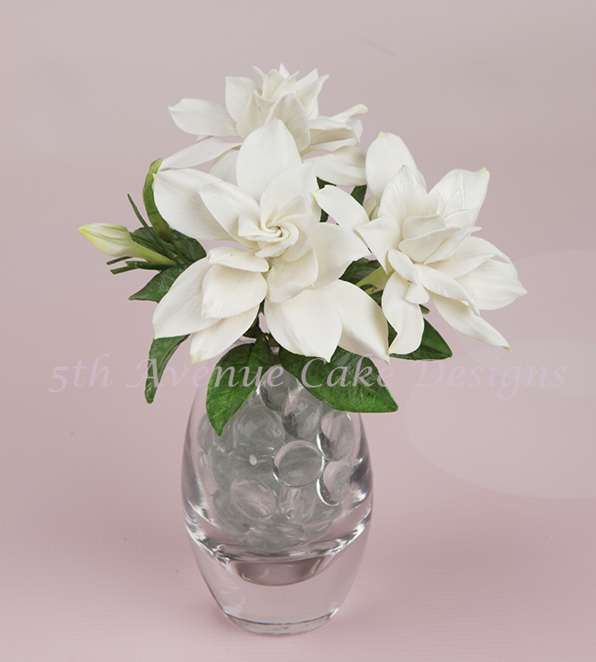 Sugar Gardenia Wedding Spray