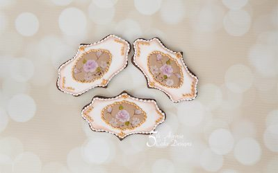 5ᵗʰ Avenue's One-Stroke Limoges China Rose Cookie Art Lesson 🌹🌸🌿