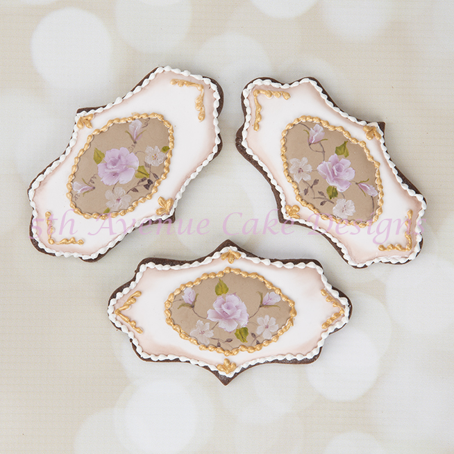 Inspired Hand Painted Limoges Cookies