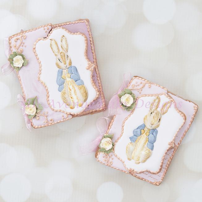 Peter Rabbit Cookie Cards