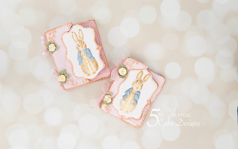 Vintage Dimensional Peter Rabbit Cookie Cards Art Lesson 🐰🥕🌱