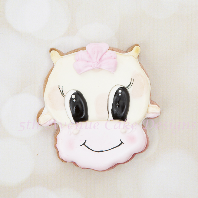 Adorale Cow Cookie