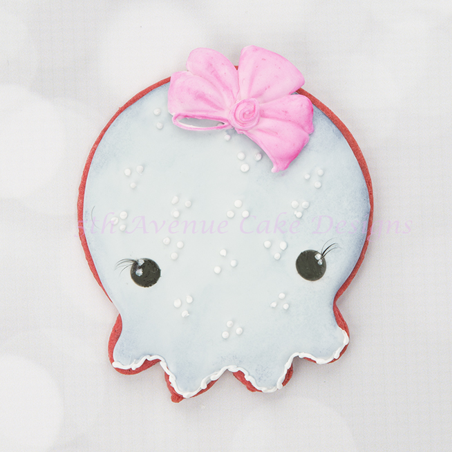 Bay Octopus Cookie
