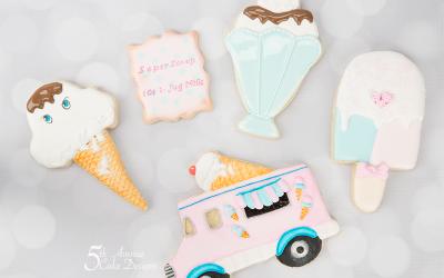 Retro Ice Cream Cookies 🍦🍨🌻