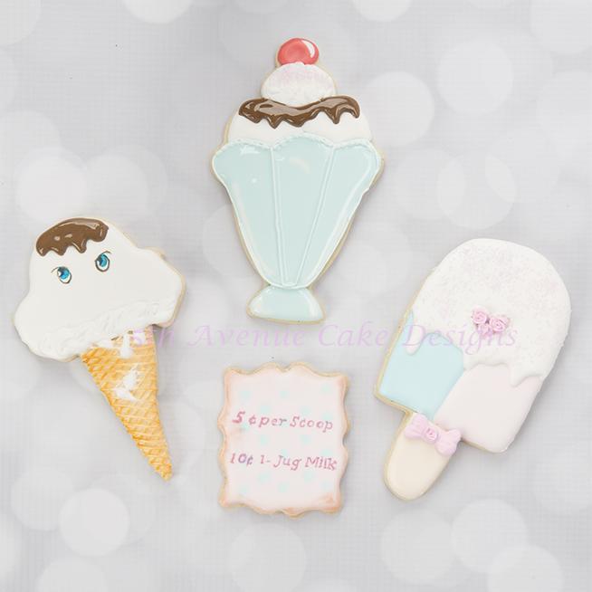 Inspired Ice Cream Cookies
