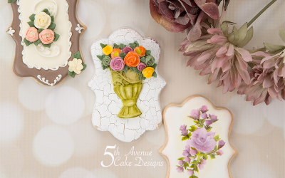 Autumn Floral Cookie Art Lesson 💐🌹🌸