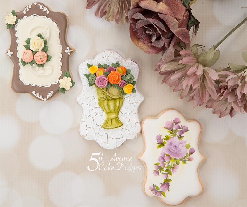 Mother's Day Floral Cookie Art Lesson 💐🌹🌸