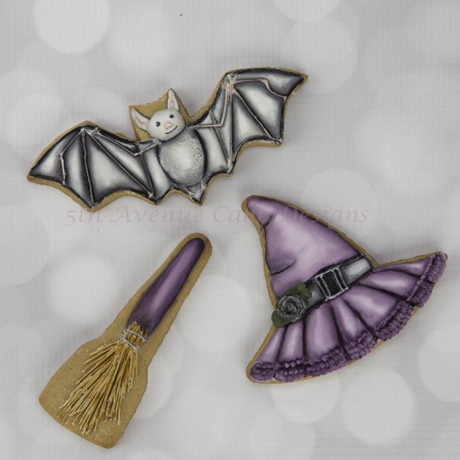 Vintage Dimensional Halloween Cookies