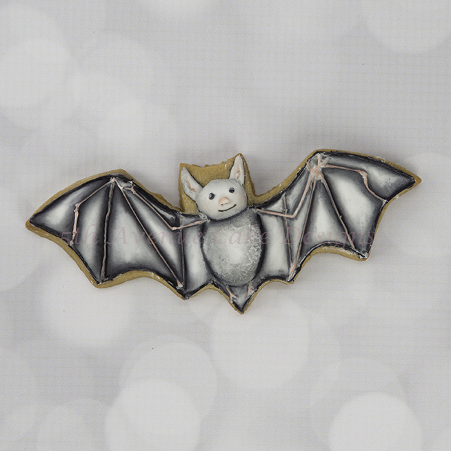 Spooky Bat Cookie