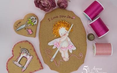 I Love You Sew Cookies 🧚💝✂️