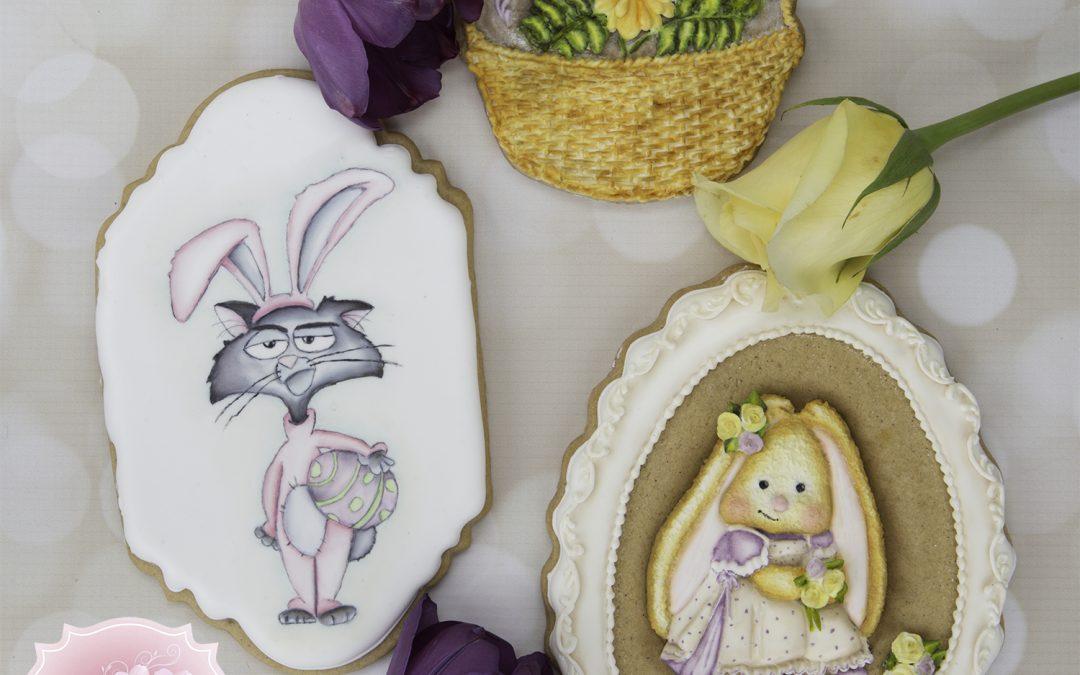 Funny Bunny Cookies  🐇🐇🐣