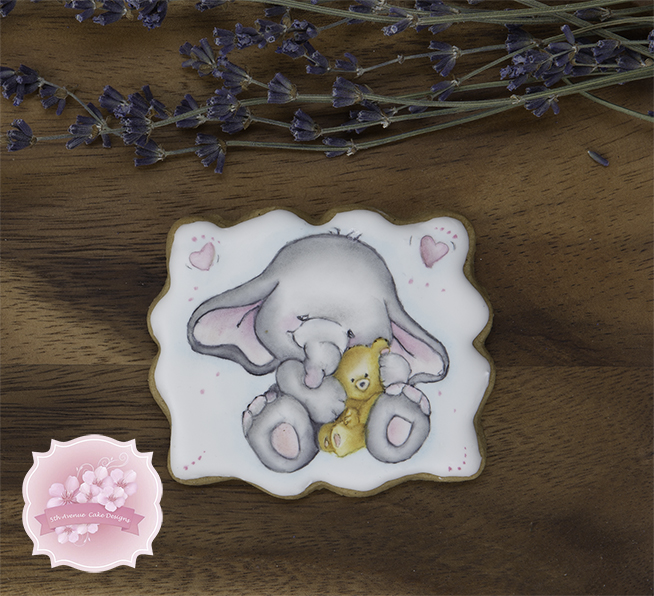Elephant Nursery Cookies
