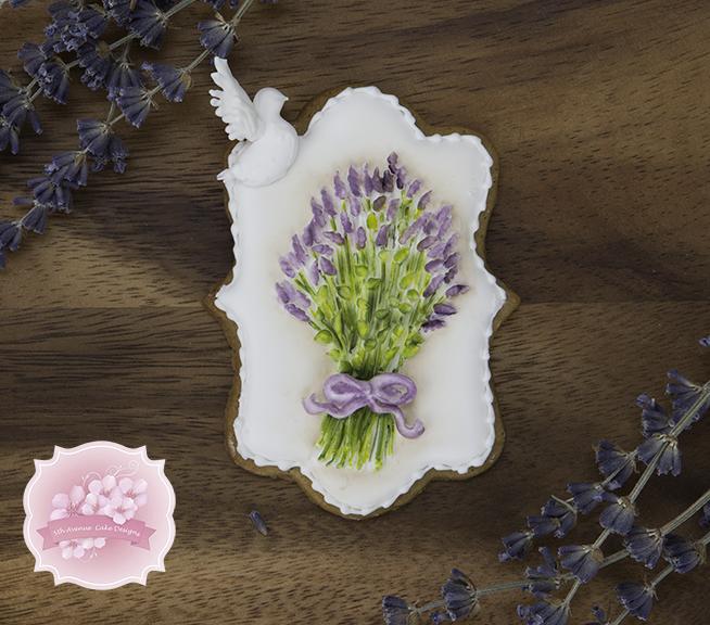 Vintage Lavender Cookies