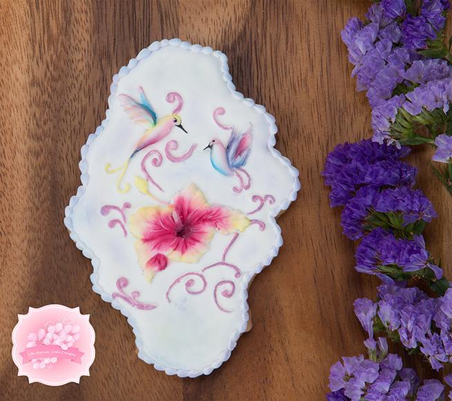 Hibiscus Cookie