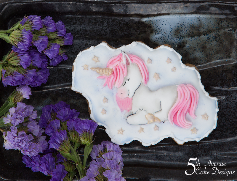Enchanting Lullaby Unicorn Cookie 🦄👶👼🏽