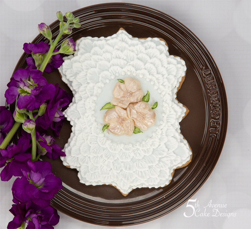 Shabby Chic Wedding Cookie
