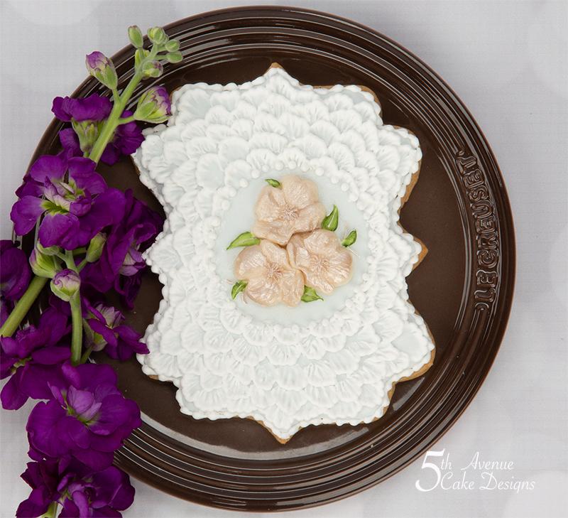Shabby Chic Wedding Cookie