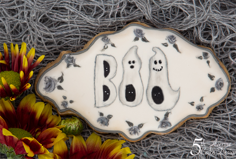 Ghostly Boo Cookie