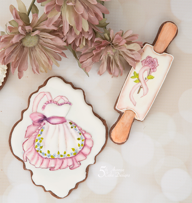 Vintage Apron Cookie