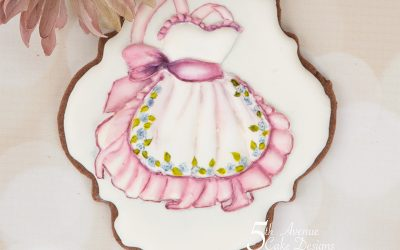 Vintage Apron Cookie Lesson 🎨🖌️🎊