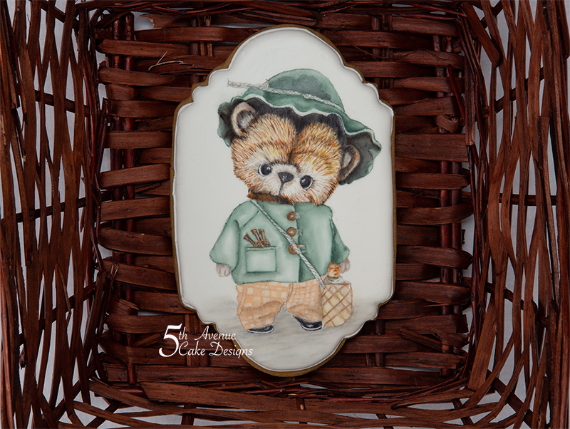 Adorable Teddy Bear Cookie