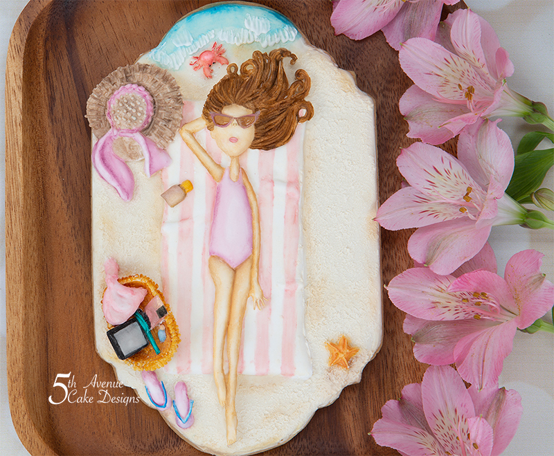 Lazy Days of Summer Cookie Lesson 🏖️👙🌞