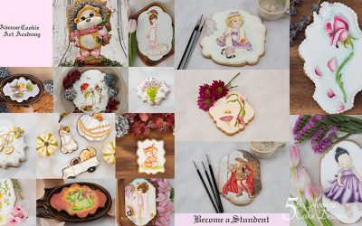 A Small Selection of 5th Avenue Cookie Art Academy 🖌️🎨🎥