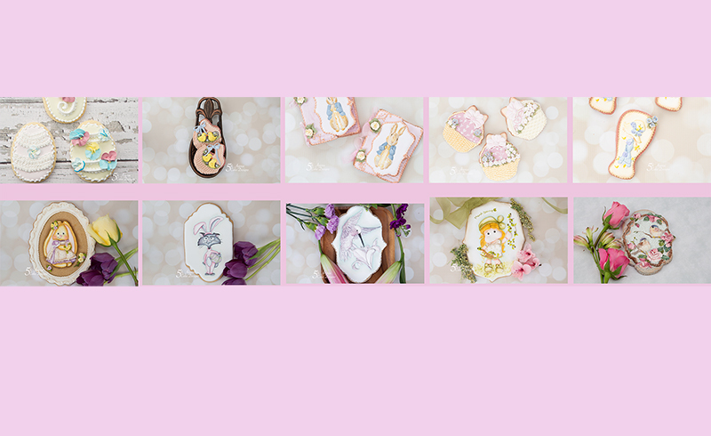 Easter 2020 Cookie Art Courses Compilation 🕊️🏠💐