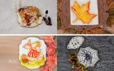 5th Avenue's Cookie  Art Academy's Popular Autumn/Halloween Cookie Art Courses Compilation 2020 🍁👻🦇