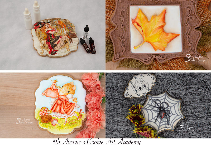 5th Avenue's Cookie  Art Academy's Popular Autumn/Halloween Cookie Art Courses Compilation 2020 🍁👻🦇