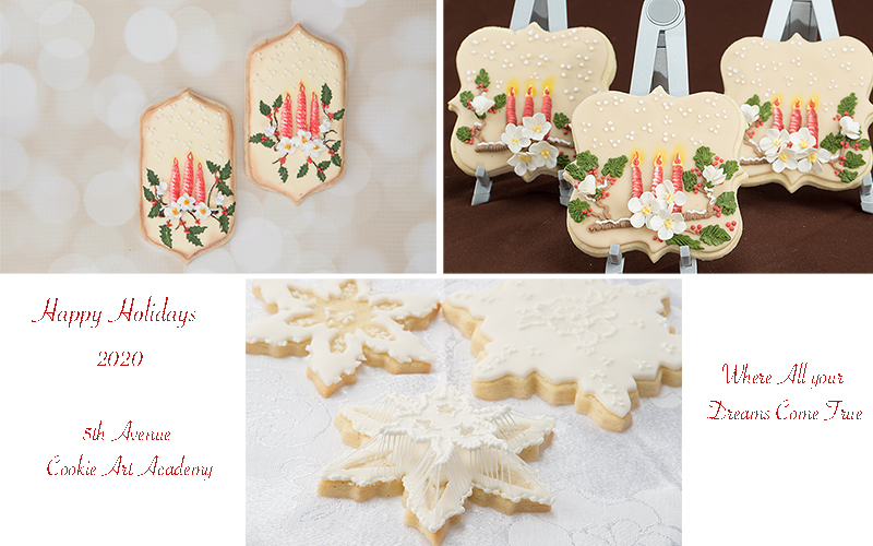 Inspired Advent Candle Cookie  Art Lesson🕯️🍫🎄