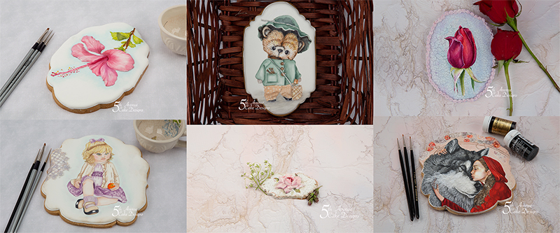 5ᵗʰ Avenue's Charming Cookie Art Compilation 🌺🌹🧸