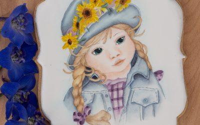 5ᵗʰ Avenue's Watercolor Portrait of a Child Cookie Lesson 🧒🏼🎨🖌️