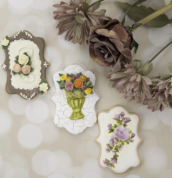 Autumn Floral Spray Cookies 🌼🌹🍂
