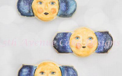 Inspired Goodnight Moon Cookies