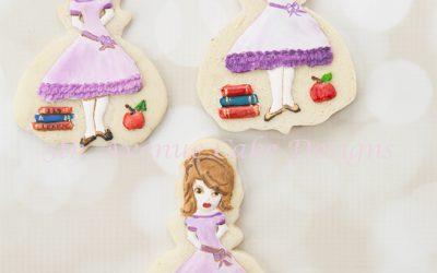 Ms Sydney, Back to School Cookies