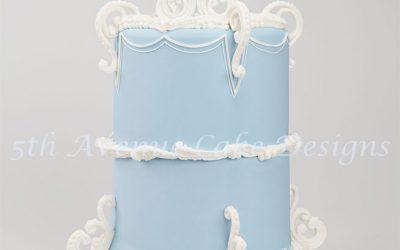 Wedgwood Inspired Cake